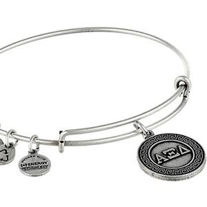 Alex and Ani Alpha Xi Delta Charm Bangle